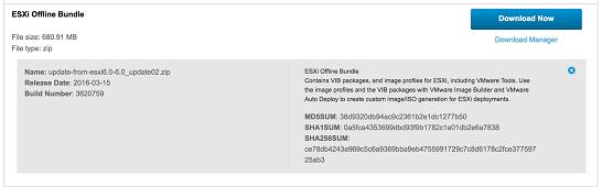 Create an ESXi 6 0U2 installation ISO with Realtek 8168 Drivers